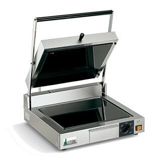LA FELSINEA PPV LL contact grill with glass-ceramic surface - smooth