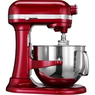 KITCHENAID Artisan Profi stand mixer with stainless steel bowl - candy apple