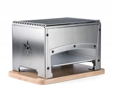 LOUIS TELLIER Brasero tabletop charcoal grill