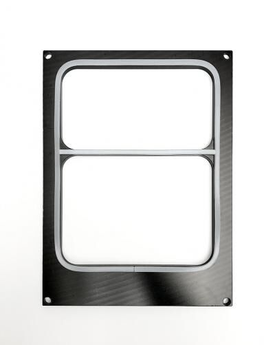 GTS200 mould for two compartments tray
