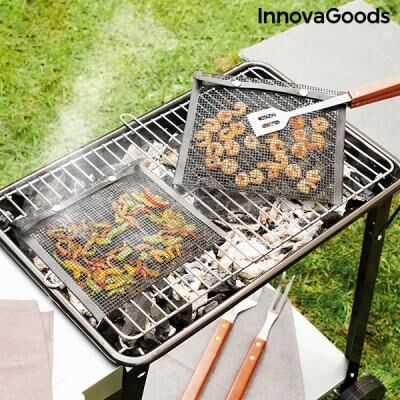 INNOVAGOODS BBQ mesh grill bag (Pack of 2)