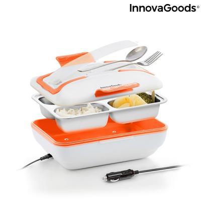 INNOVAGOODS electric lunch box for cars - 3 compartments